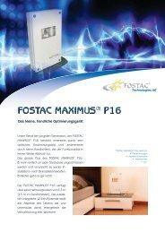 Fostac MAXIMUS® P16 - Naturenergie-Leben.de