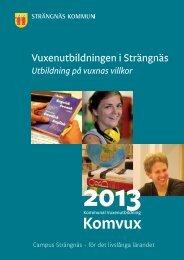 vuxkatalog 2012 2013.indd - Strängnäs kommun