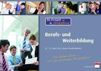 IBO 2011 | BILDUNGS-OFFENSIVE - Berufs- und Weiterbildung