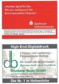 6. Heft gegen SSV Schwäbisch Hall 11.11.2012 - TSV Pfedelbach - Page 2