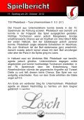 6. Heft gegen SSV Schwäbisch Hall 11.11.2012 - TSV Pfedelbach - Page 6