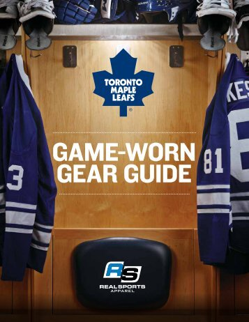 Updated Gear Guide - Real Sports
