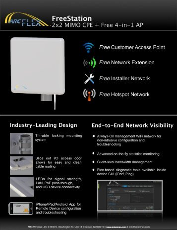 FreeStation Datasheet - Titan Wireless