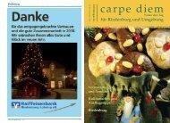 Kulinarische Perle Riedenburgs - carpe diem magazine