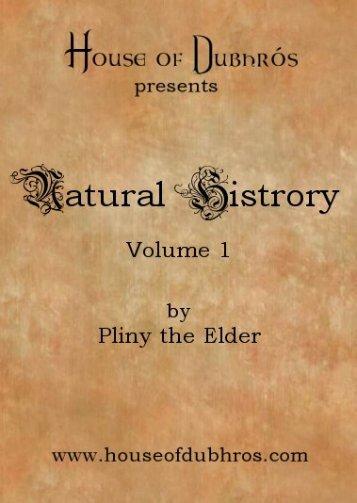 vol 1 - House of Dubhros
