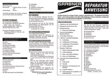 Service box - Grabner Sports