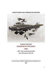 Operazione Militare Spagna - Aeronautica Militare Italiana