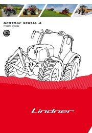 GEOTRAC SERIjA 4 - Lindner Traktoren
