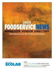 2009-Vendor-Director.. - Foodservice News
