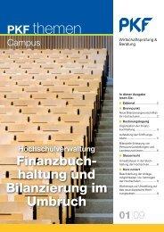 Heft 1 04/2009 Hochschulverwaltung - PKF