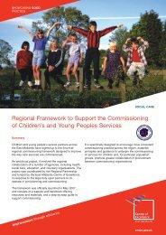 Regional Commissioning Framework - East Midlands Councils