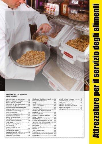 Attrezzature per il servizio degli alimenti - Grupposds.it