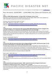 1 New Documents (21/09/2009 - 27/09/2009) http://www ...