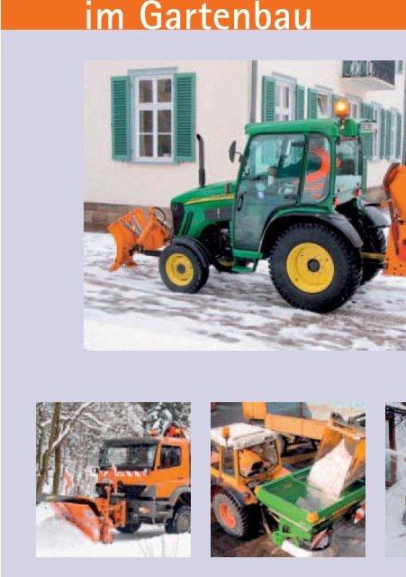 Winterdienst im Gartenbau - GBG 29 - SVLFG