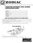 Zodiac Baracuda G3 - Home - Swimming Pool Parts Filters Pumps ... - Page 3