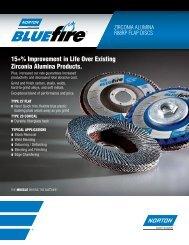 Zirconia Alumina Plus Pack of 2 80 Grit 4-1//2 Diameter 5//8-11 Arbor Norton BlueFire R884P Type 29 Conical Flap Abrasive Disc