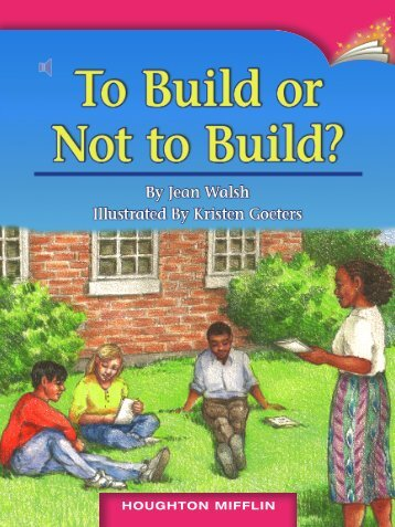 Lesson 3:To Build or Not To Build