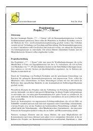 Projektantrag - an der Universität Duisburg-Essen