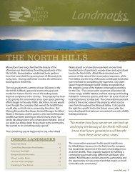 2010 Summer Newsletter - Five Valleys Land Trust