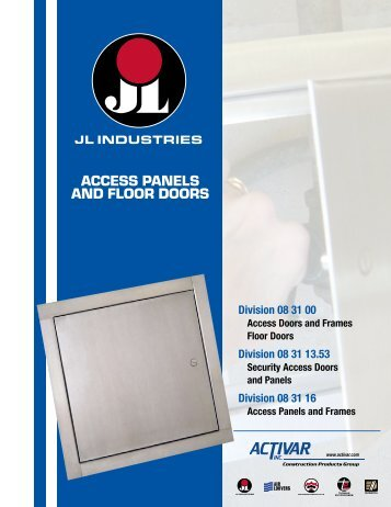 Access Panels & Floor Doors - Activar Construction Products Group