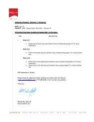 Addendum Bulletin - Revision 1: Storefront