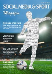 Social Media und Sport Magazin - Februar 2012 - Result-Sports