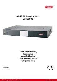 ABUS Digitalrekorder TVVR30003