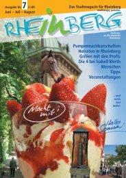 Stadtmagazin Rheinberg • Ausgabe Nr.7