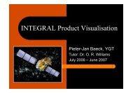 INTEGRAL Visualisation Tool & Explorer - ESAC Trainee Project