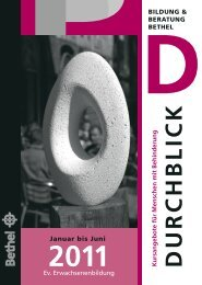 DURCHBLICK - Bildung & Beratung Bethel