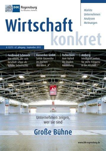Große Bühne - IHK Regensburg
