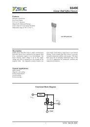 SS49E Hall Sensor Datasheet - DSCL