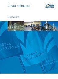 Annual report 2007 - Česká rafinérská, as