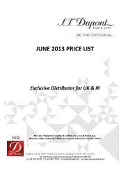 JUNE 2013 PRICE LIST - Stone Marketing