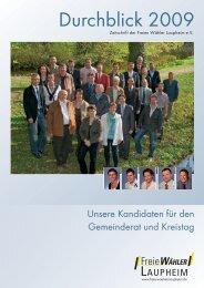Durchblick 2009 - freie-waehler-laupheim.de