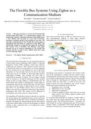 The Flexible Bus Systems Using Zigbee as a Communication Medium