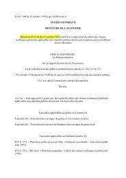 Décret n° 93-1164 - PLATEFORME OUVRAGES D'ART -