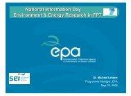 Brian Donlon (EPA) - Seventh EU Framework Programme Ireland