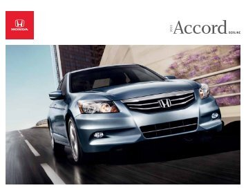 Accord - Honda Canada