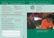 März 2004 - Govinda Entwicklungshilfe e.V.