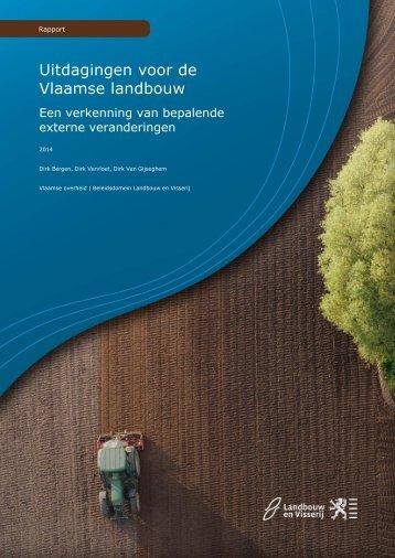 Uitdagingen voor de Vlaamse landbouw
