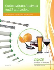 Carbohydrate Analysis and Purification - Markus Bruckner ...