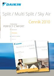 DAIKIN Cenník Split a multisplit klimatizacie 2010.pdf