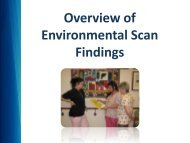 Overview of Environmental Scan Findings - Quality Palliative Care in ...