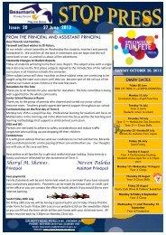 Issue 20 Stop Press 27 June 2013 - Beaumaris Primary School