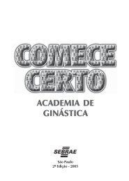 Academia de Ginástica - COMPLETO - Sebrae