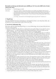 Protokoll zur Sitzung des Kreiselternrates (KER) am 18. November ...