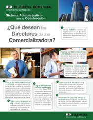 Sistema Administrativo para la Construcción - Telematel