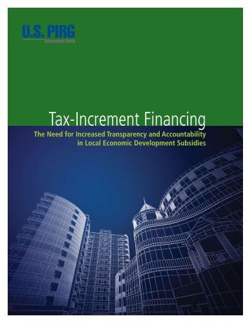 Tax-Increment Financing - Reconnecting America