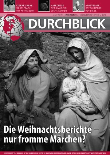 Die Weihnachtsberichte – nur fromme Märchen? - Durchblick